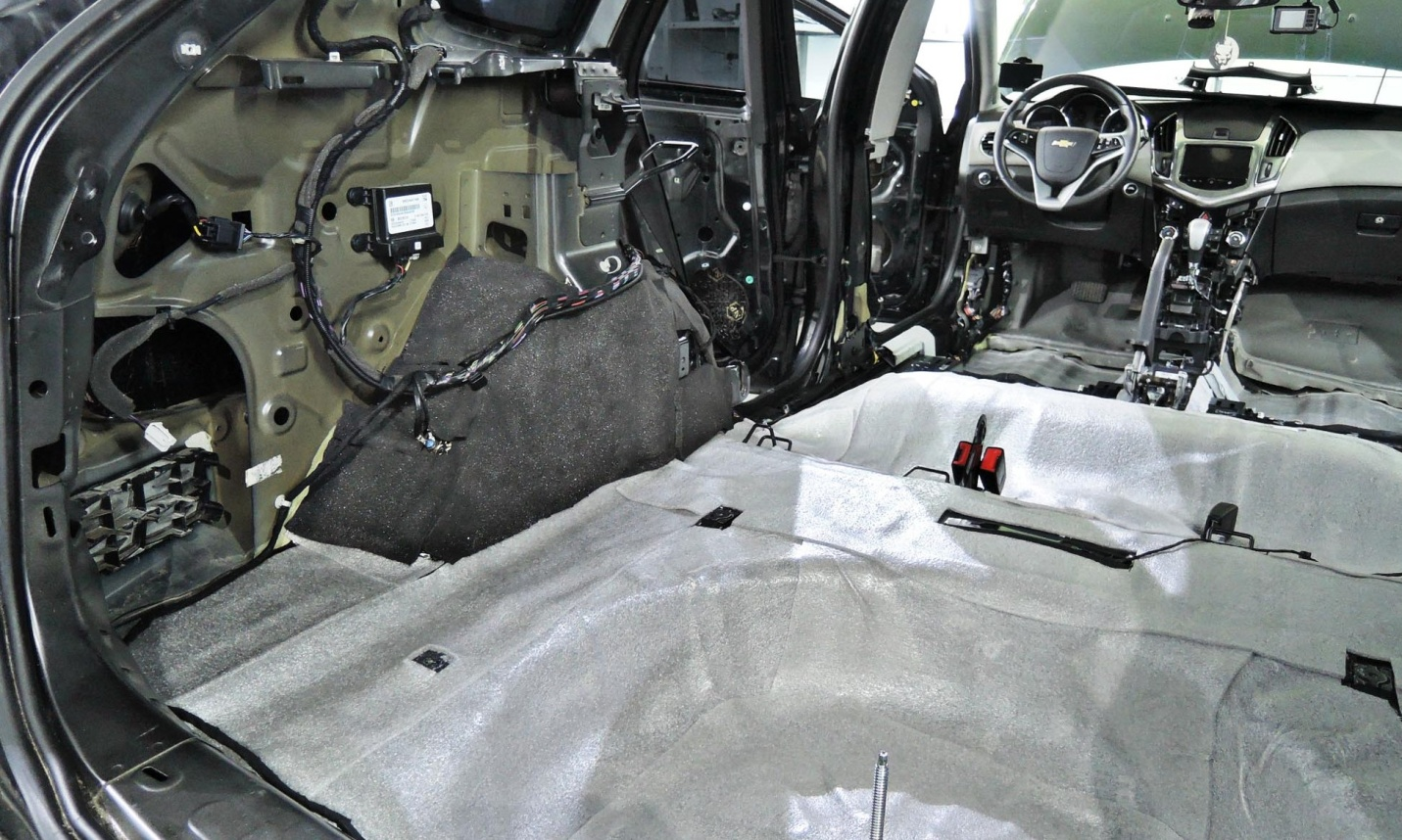 шумоизоляция в автомобилях 4